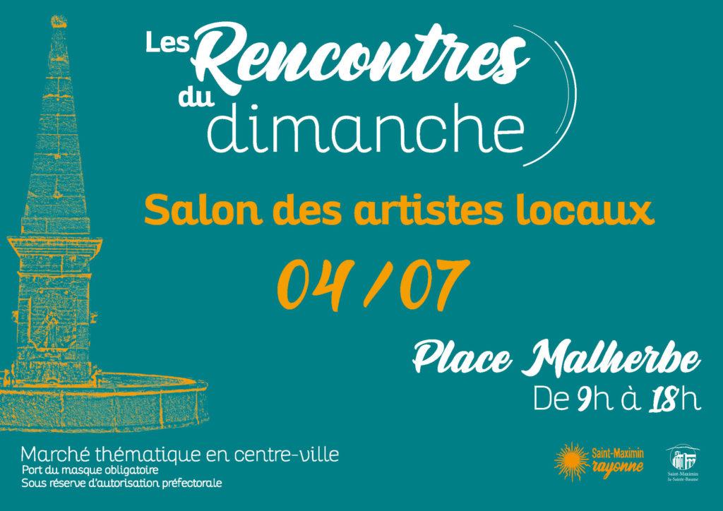 Les Rencontres du dimanche - Salon des artistes locaux