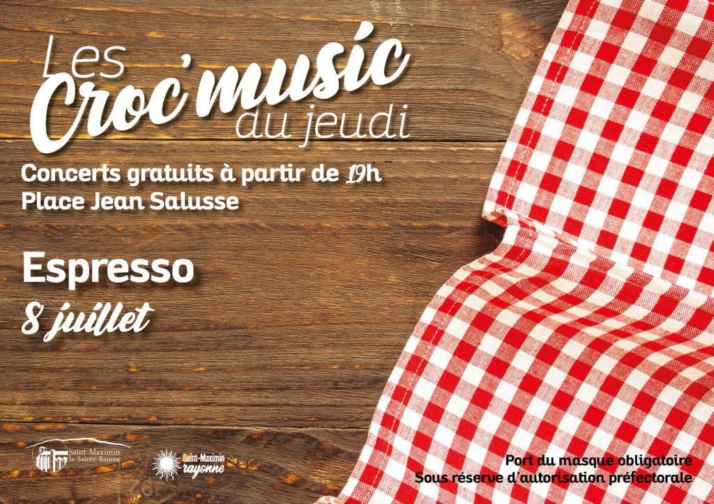 Les Croc'music - Espresso @ Place Jean Salusse