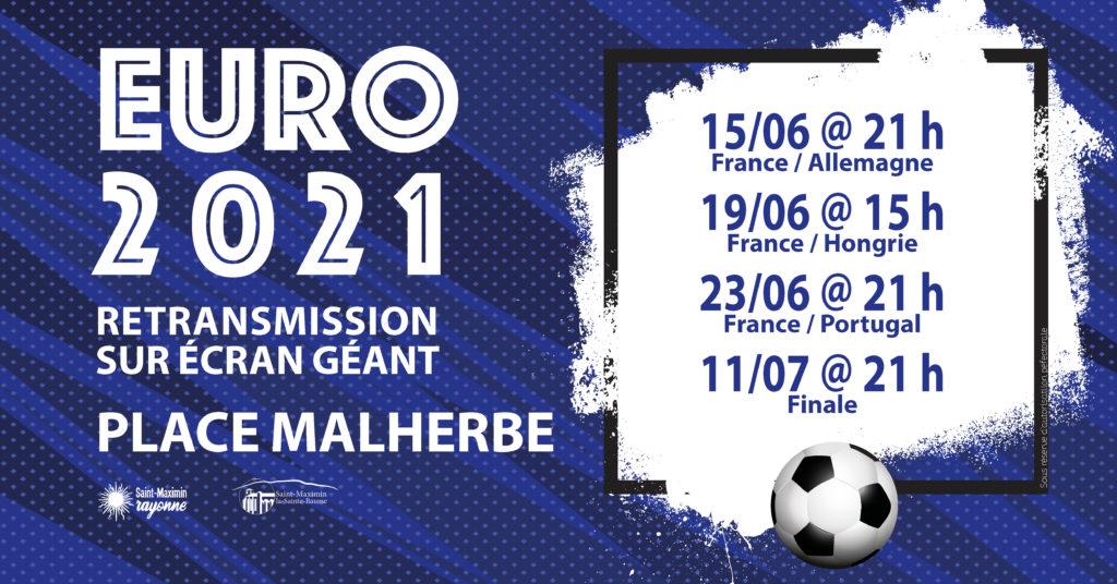 EURO 2021 - France/Hongrie @ Place Malherbe