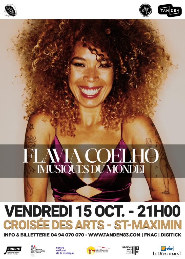 Flavia Coelho (world) @ La Croisée des Arts