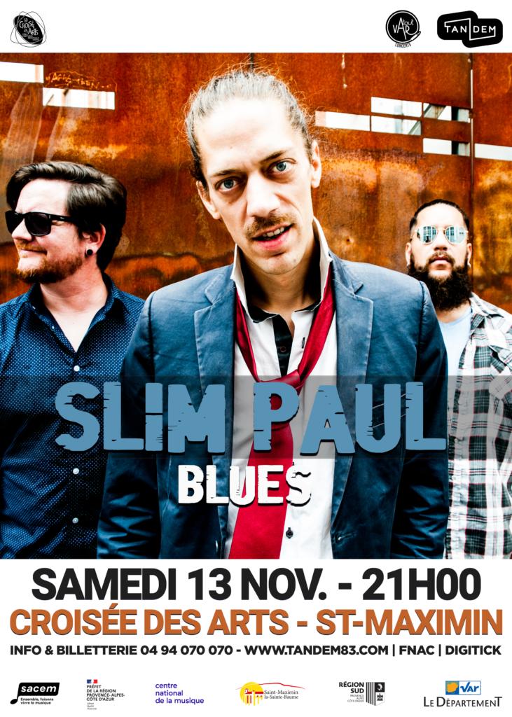 Slim Paul (blues) @ La Croisée des Arts