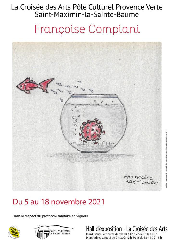 Françoise Compiani @ Hall des expositions - La Croisée des Arts