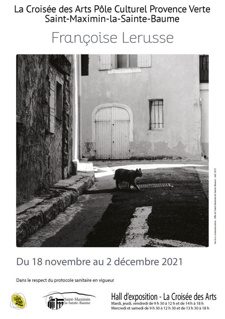 Françoise Lerusse @ Hall des expositions - La Croisée des Arts