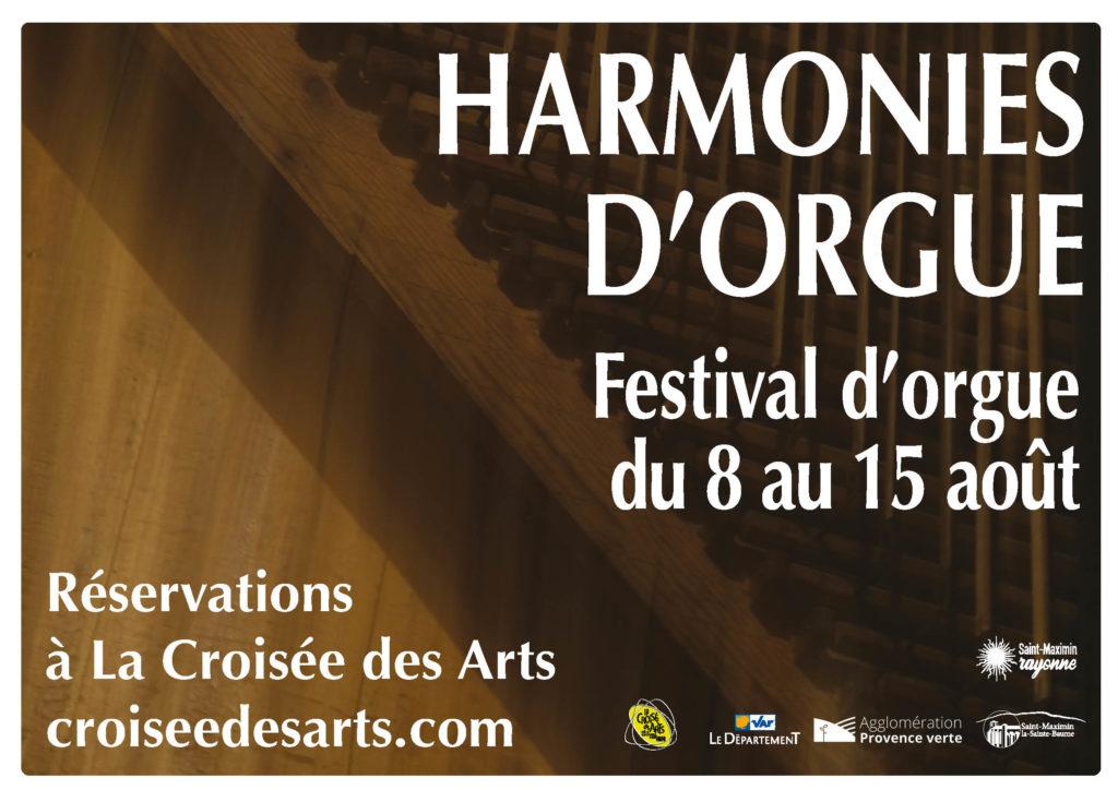 """Festival """"Harmonies d'orgue"""" @ Basilique Sainte-Marie-Madeleine et La Croisée des Arts"""