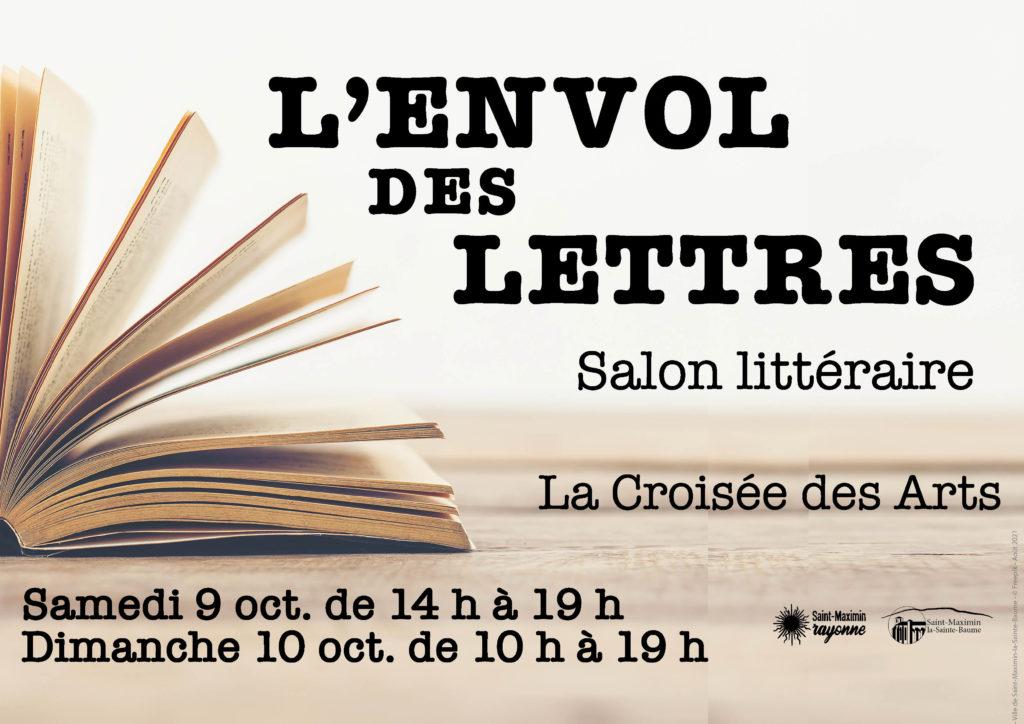 L'Envol des Lettres - Salon littéraire @ La Croisée des Arts