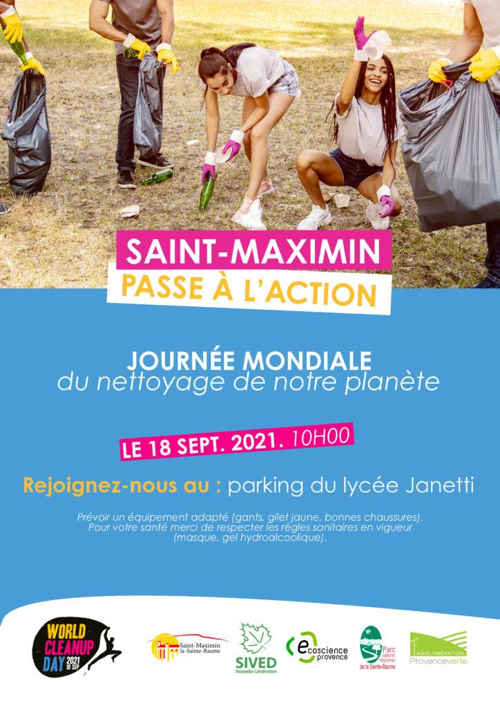 Journée mondiale du nettoyage de notre planète @ Lycée Maurice Janetti