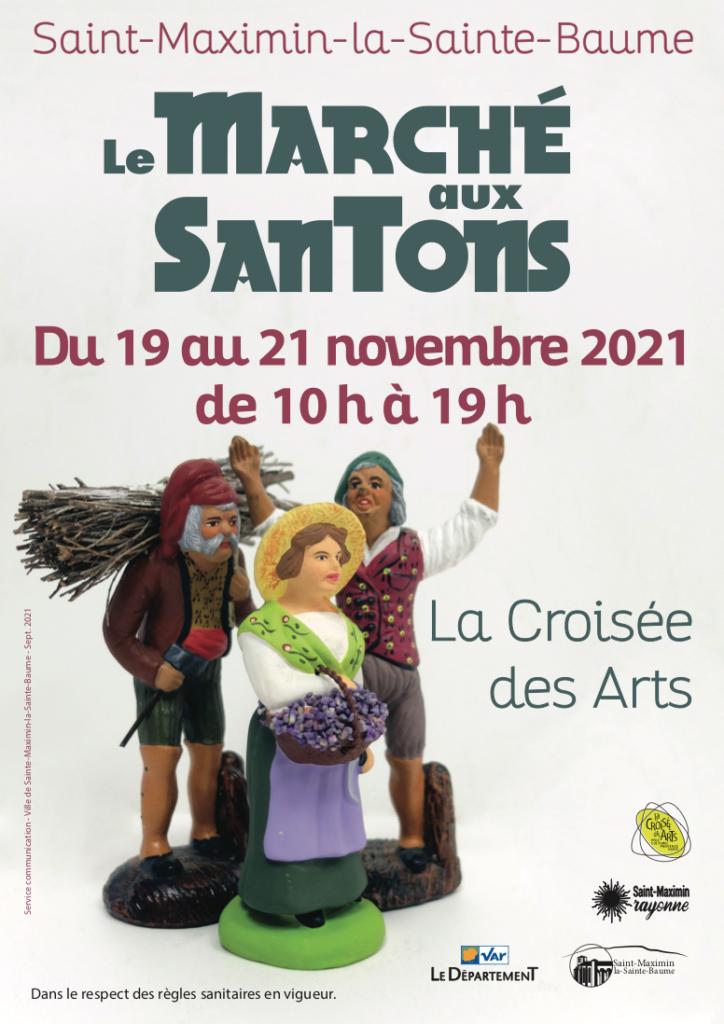 Le Marché aux santons @ La Croisée des Arts
